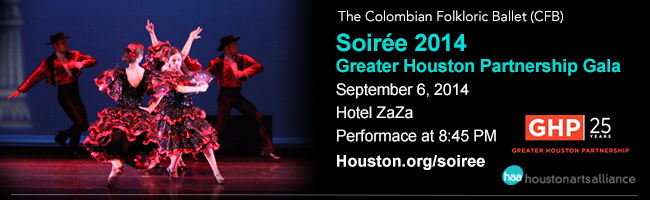 The Colombian Folkloric Ballet—Soiré Greater Houston Partnership Gala Houston 2013