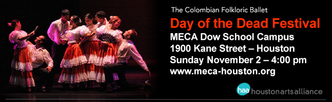 The Colombian Folkloric Ballet—Day of The Dead Festival Houston 2013