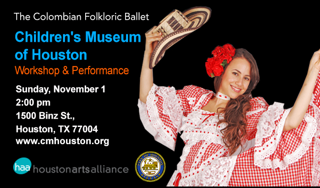The Colombian Folkloric Ballet Children's Museum of Houston 2015