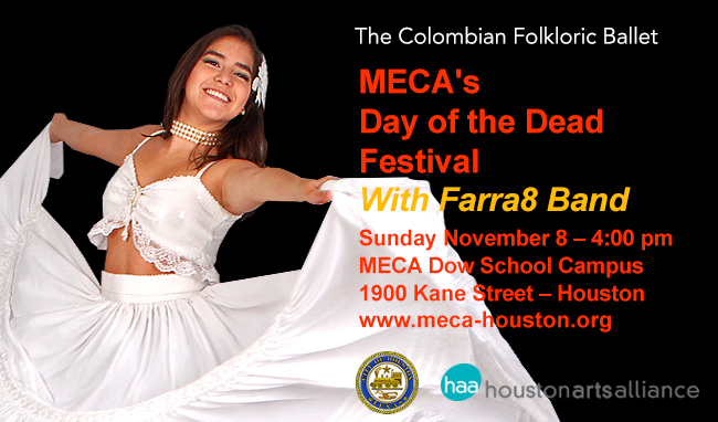 The Colombian Folkloric Ballet Day of The Dead Festival 2015