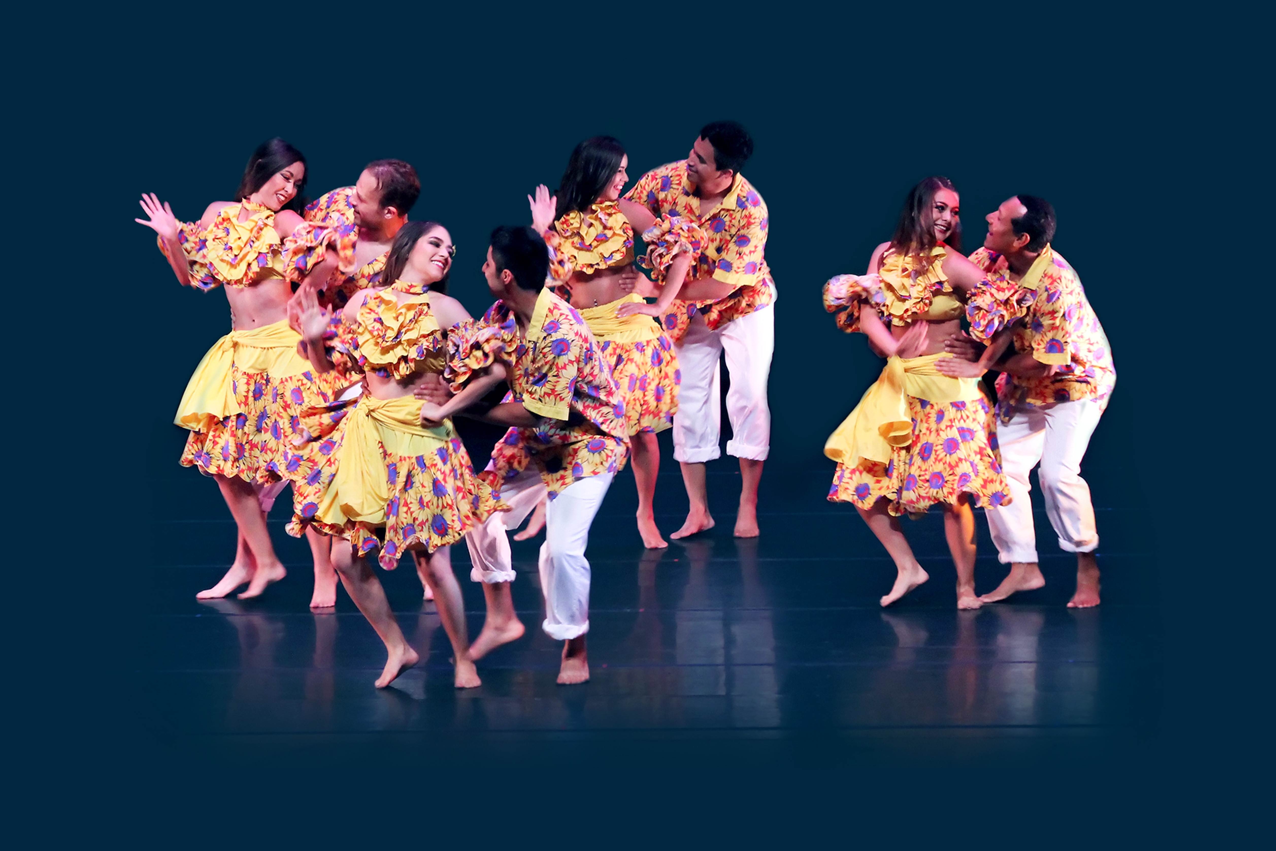The Colombian Folkloric Ballet from Houston, Texas.